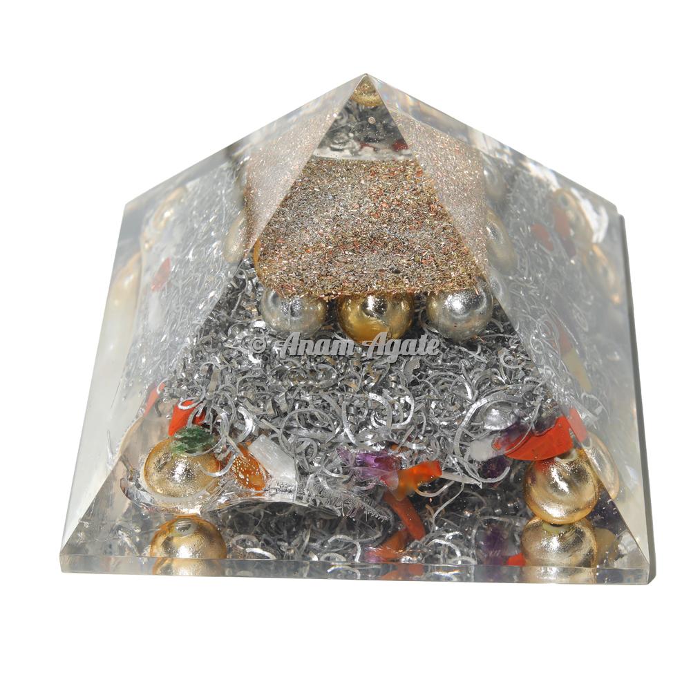 Pearls Orgonite Pyramid