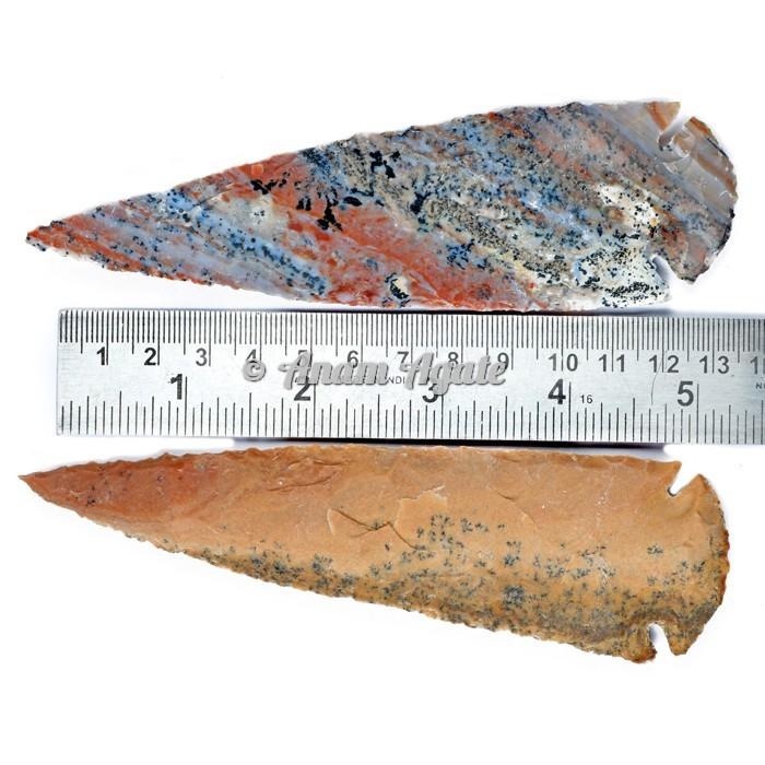 Agate Arrowhead 5-5.5 Inches