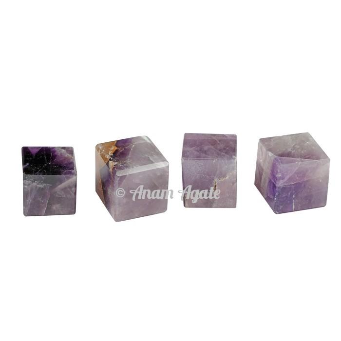 A Grade Amethyst Cubes