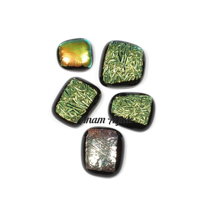 Glass American Gemstone Cabochons