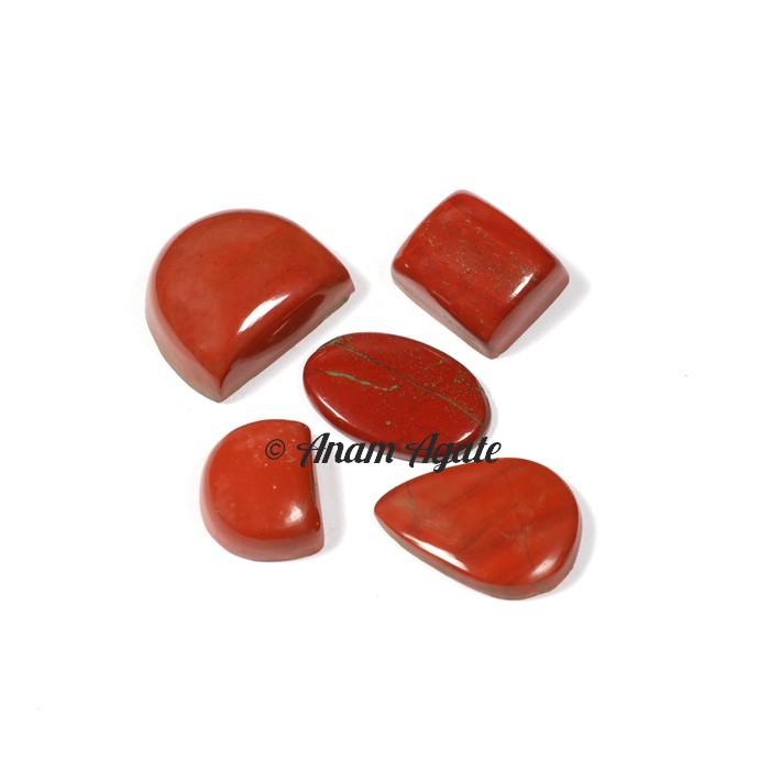 Red Jasper Gemstone Cabochons