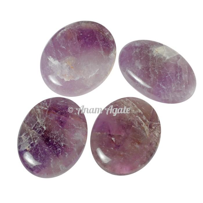 Amethyst Oval Gemstone Cabochons