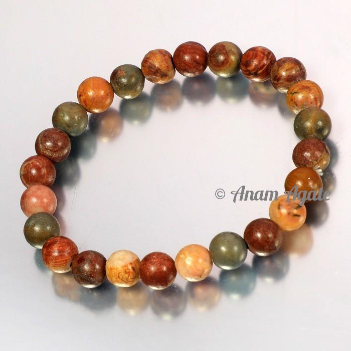 Fancy Agate Bracelets