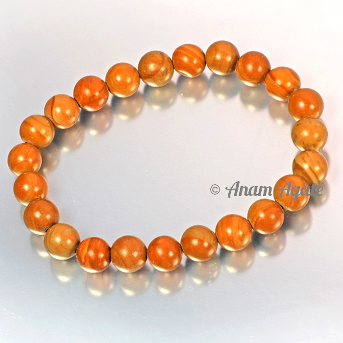 Wooden Jasper Bracelets