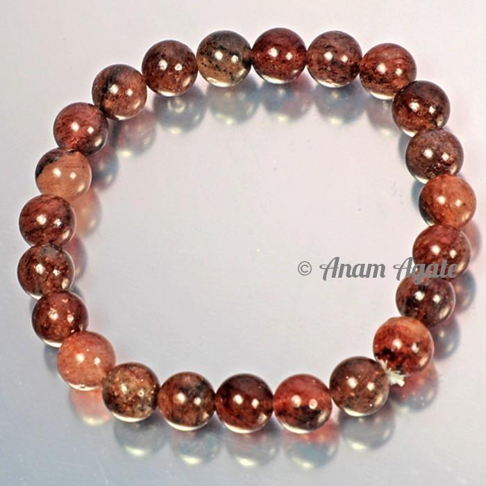 Strawberry Quartz Bracelets