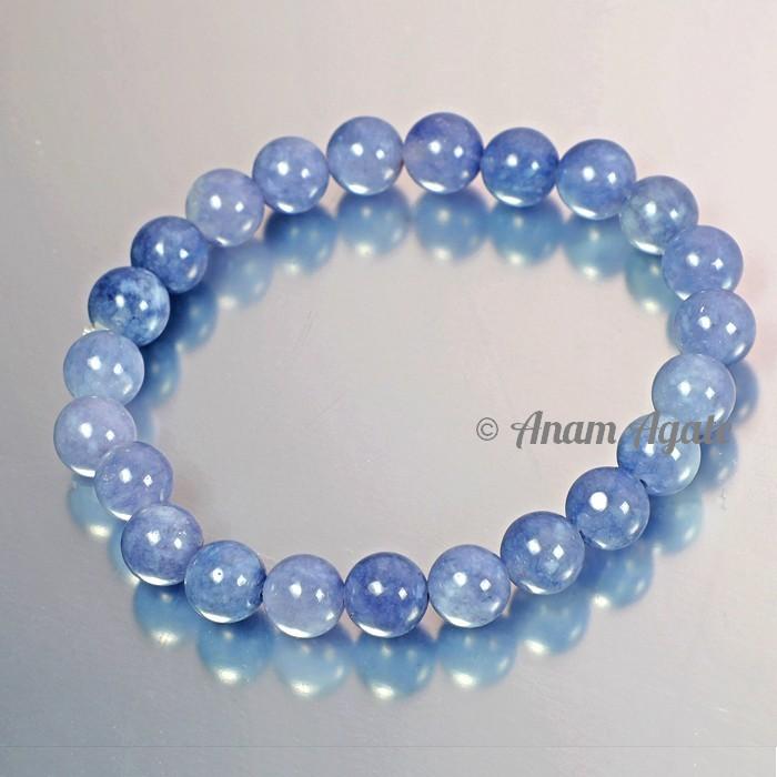 Light Blue Agate Bracelets
