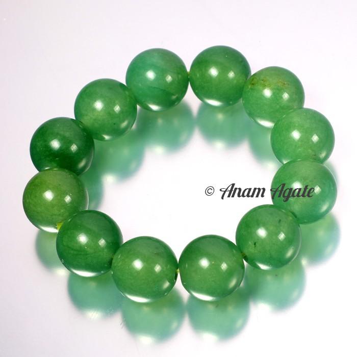 Green Aventurine Big Sizes Bracelets