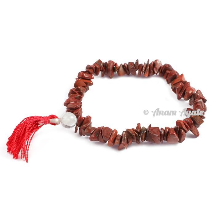 Red Jasper Power Chips Bracelets