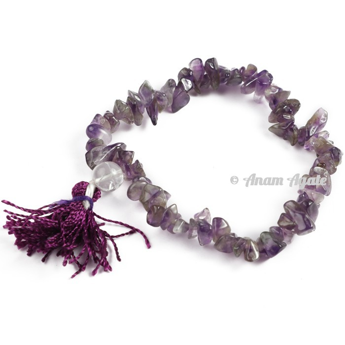 Amethyst Power Chips Bracelets