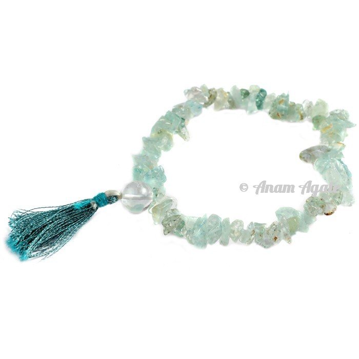 Green Flourite Power Chips Bracelets