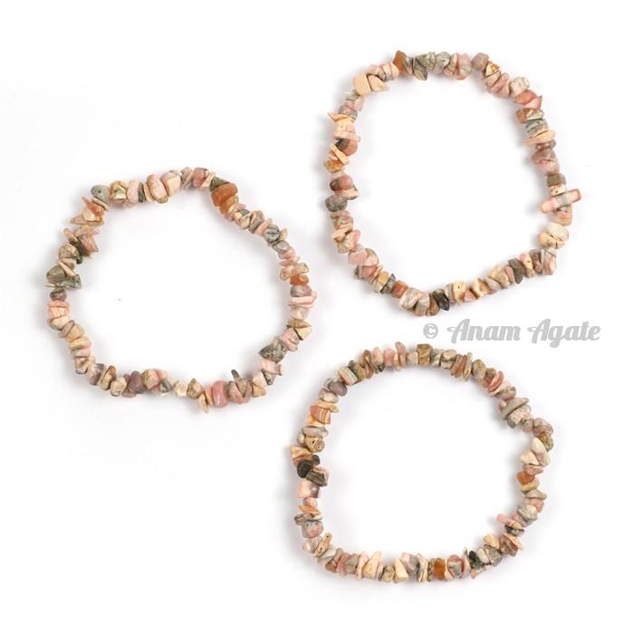 Moonstone Chips Bracelets