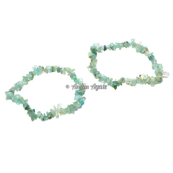 Aquamarine Chips Bracelets
