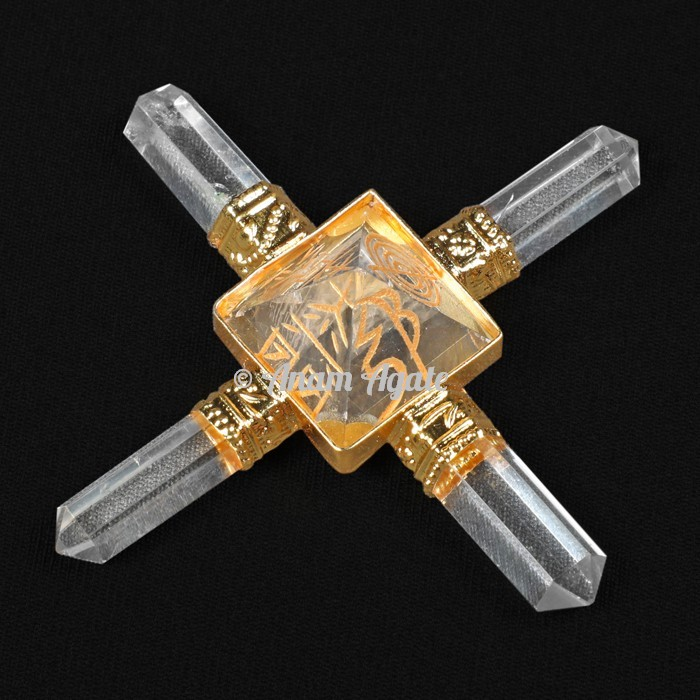 Usui Reiki Crystal Quartz Pyramids Generator