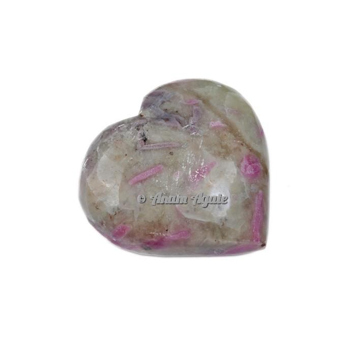 Ruby Crystal Gemstone Heart