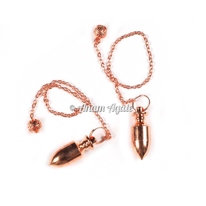 Copper Bullet Pendulums
