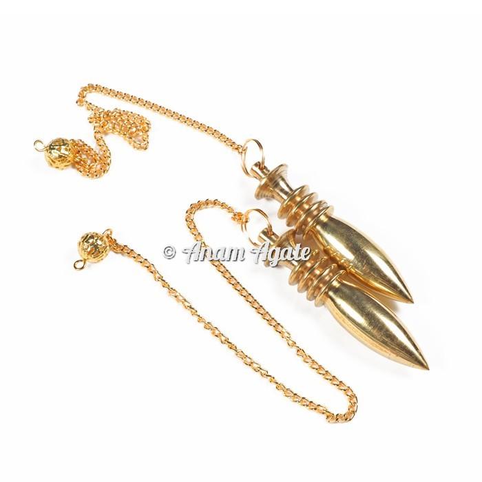 Golden Karnak Healing Pendulums
