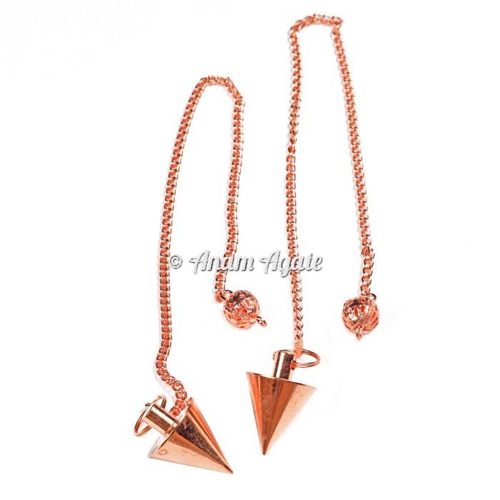 Copper Dowsing Pendulums