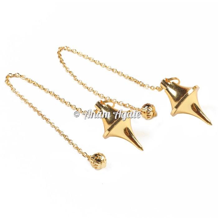 UFO Golden Brass Pendulums