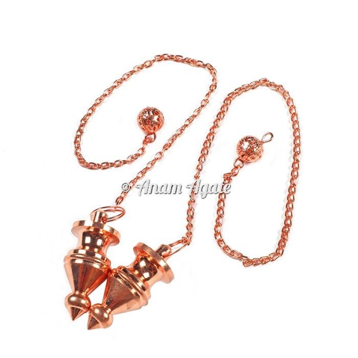 Copper Egyptian Brass Pendulums