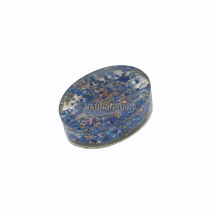 Lapis Lazuli Crystal Orgonite Worry Stone