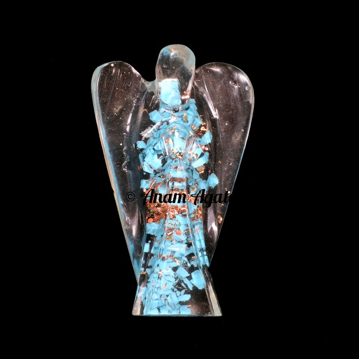 Turquoise Orgone Angels