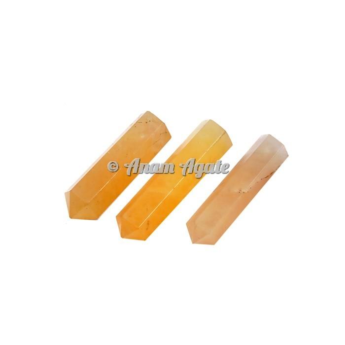 Golden Quartz Pencil Points