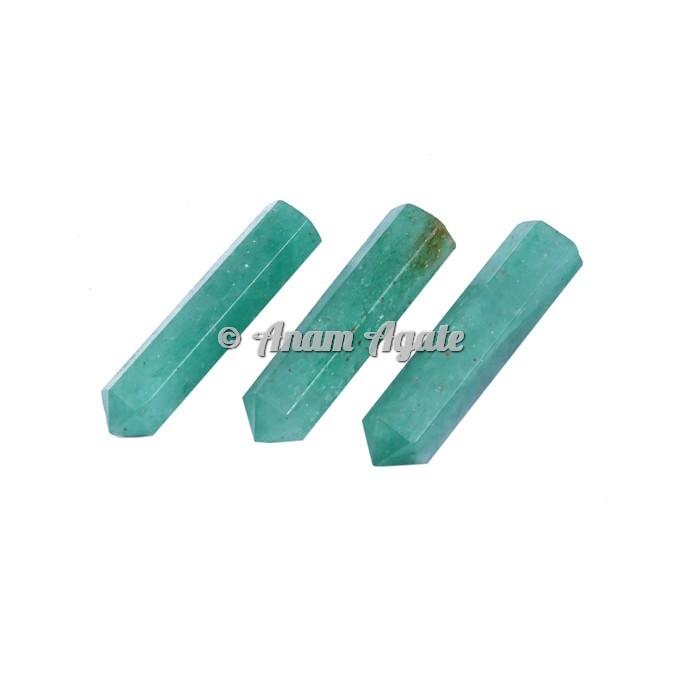 Green Aventurine Pencil Points