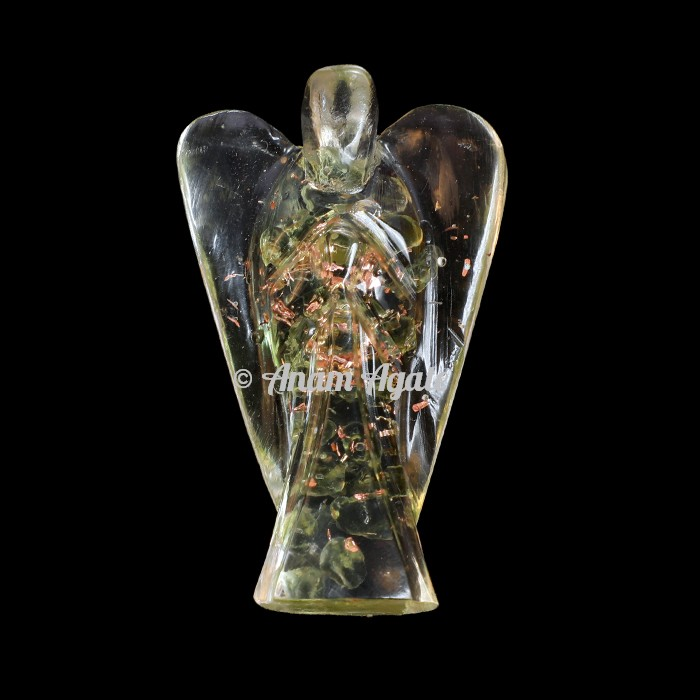 Peridot Orgonite Angels