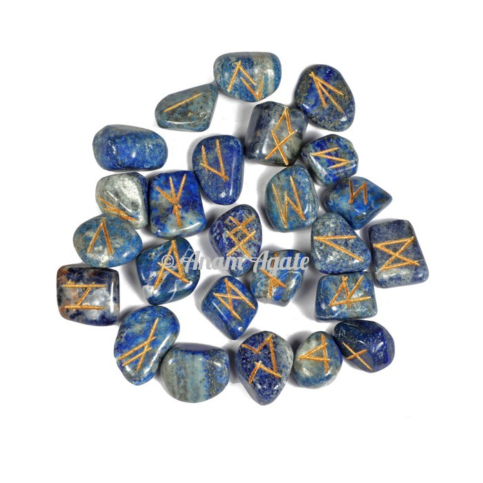 Lapis Lazuli Rune Set