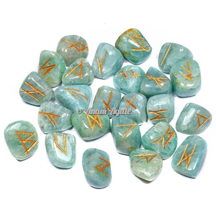 Aqua Marine Rune Set