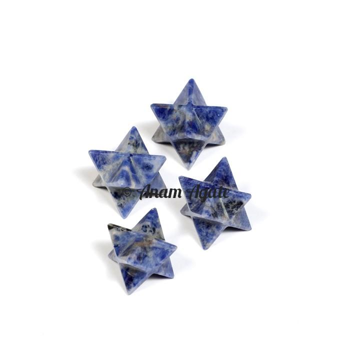 Sodalite Merkaba Star
