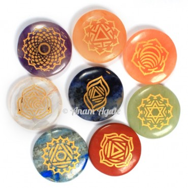 Thymus Chakra Disc Set