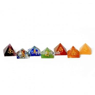Chakra Mini Pyramids