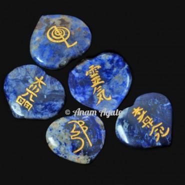Lapis Lazuli Heart ReikI Set