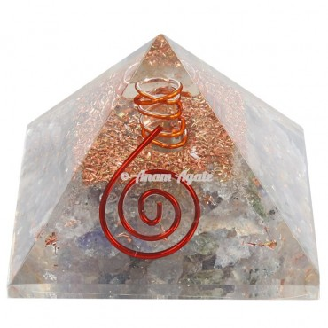 Labrodrite Orgonite Pyramid
