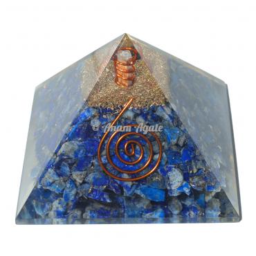 Lapiz Lazuli Orgonite Pyramid