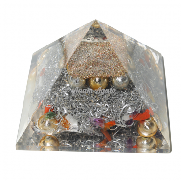 Pearls Orgonite Pyramid