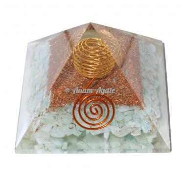 Amazonite Orgonite Pyramid