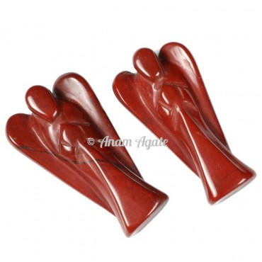 Red Jasper Angels 2 Inches