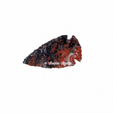 Mahagony Jasper Arrowhead 1-1.5 Inches