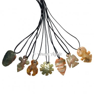 Mix Arrowheads Pendants