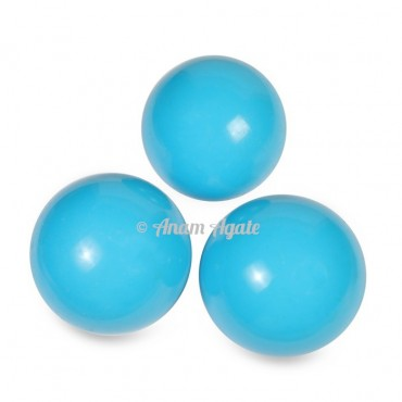 Synthetic Turquoise Ball