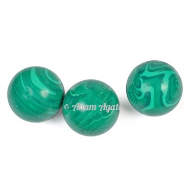 Synthetic Malachite Ball