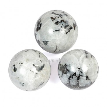 Rainbow Moonstone Ball