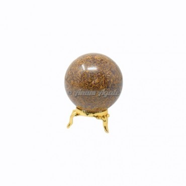 Calligraphy Ball Sphere with Stand