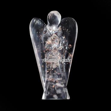 Clear Quartz Orgonite Angels