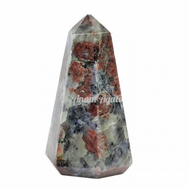 Ruby Crystals Obelisk Points