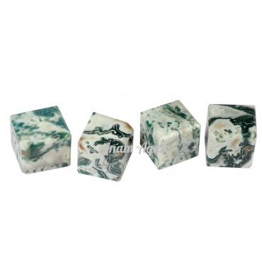Tree Agate Cubes