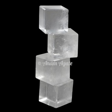 Crystal Quartz Cubes