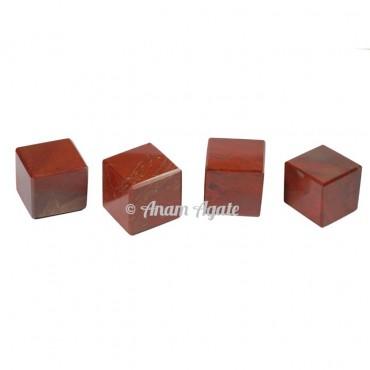 Red Jasper Cubes